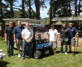 USBattery-Sends-Off-Carting-For-A-Cause-Team