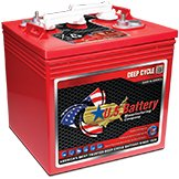 US 2200XC2 6 Volt Deep Cycle Batteries