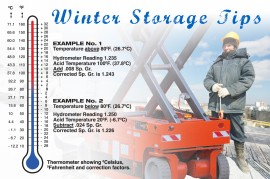 Winter Storage Tips For Batteries