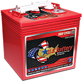 US 2000XC2 6 Volt Deep Cycle Batteries