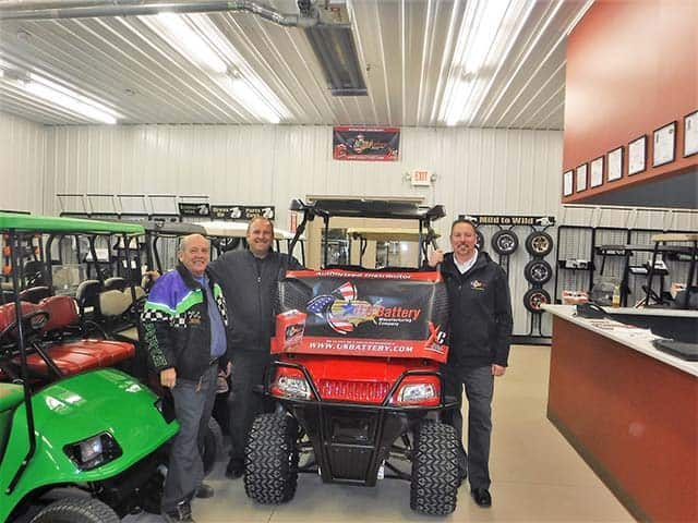 Battery Maintenance Training For Customers Helps One Golf Car Dealer