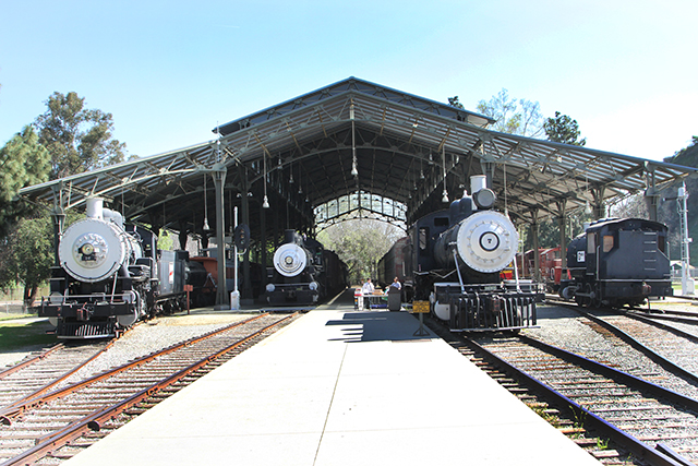 The Travel Town Foundation is currently restoring several trains which also provides a way for students to earn volunteer service towards college.