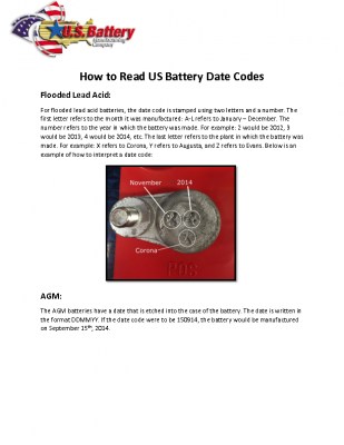 HOW TO READ DATE CODES