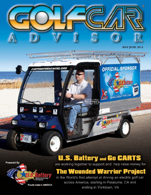 GCA MAGAZINE -CARTING FOR A CAUSE COVER AND STORY